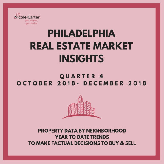 FOURTH QUARTER 2018 REPORT: PHILADELPHIA BUYING AND SELLING