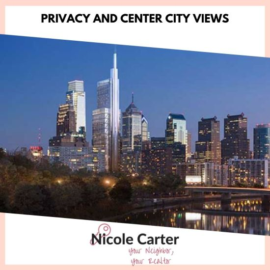 Privacy and Center City Views in Philadelphia