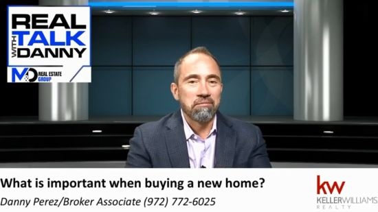 What is important when buying a new home?