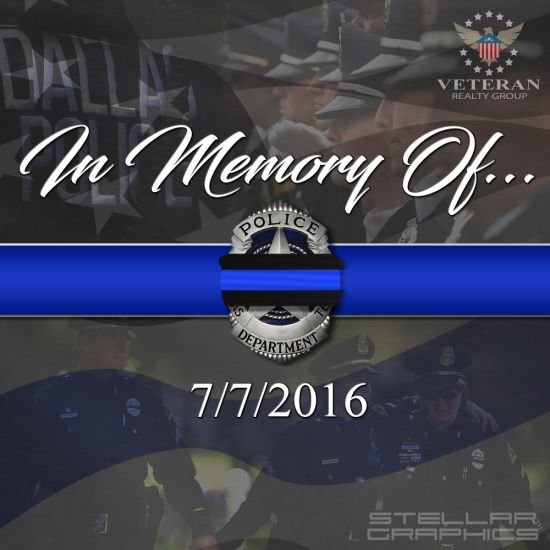 Remember the DPD officers lost 7/7/2016