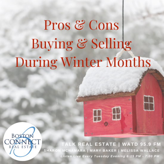 Pros and Cons of Buying and Selling During the Winter Months