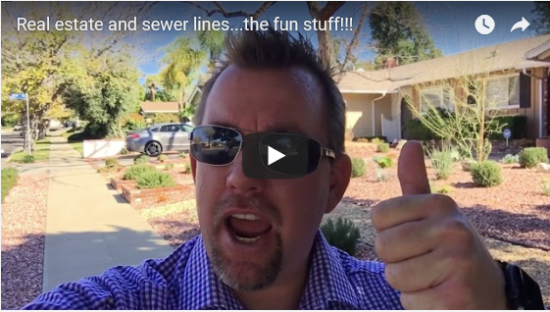 Real estate and the dreaded sewer line