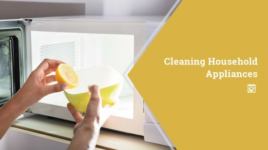 Cleaning Household Appliances