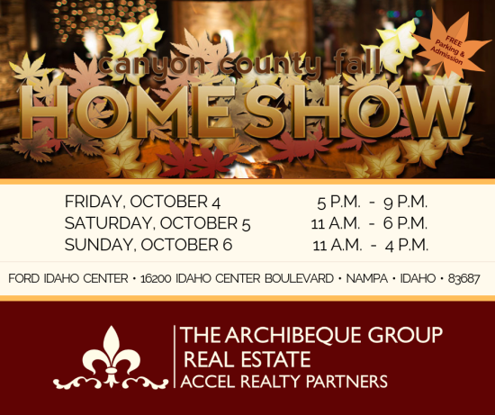 2019 24th Annual Canyon County Fall Home Show | Oct 4-Oct 6 | Nampa, Idaho