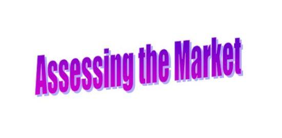 Assessing the Market