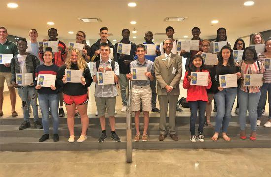 North Brunswick High School Seniors Receive Citizenship Award