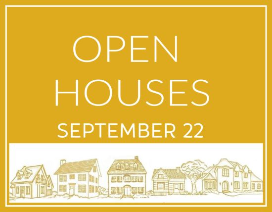 Open Houses September 22