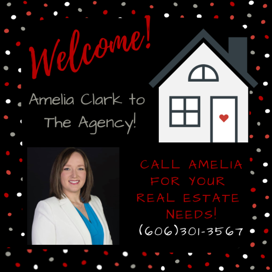 Welcome Amelia Clark to The Agency!