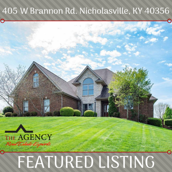 FEATURED LISTING 405 W Brannon Rd. Nicholasville, KY 40356