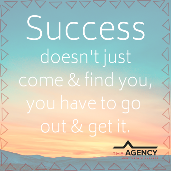 Monday Motivation at The Agency
