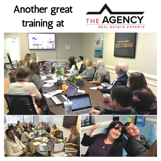 Canva Training at The Agency!