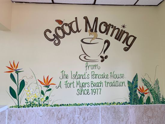 Breakfast is on the menu at the Island Pancake House!