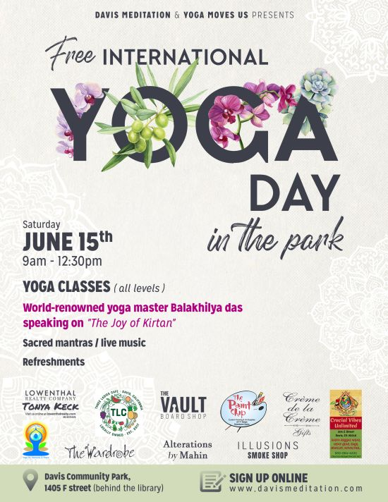 International Yoga Day in the Park