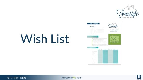 Develop Your Wish-List!