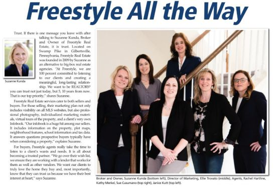 Taking the Cookie-Cutter Out of Real Estate: Freestyle All The Way!