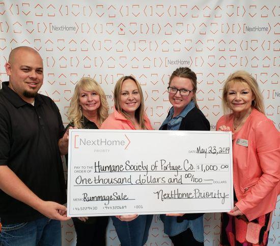 NextHome Priority Helps Humane Society