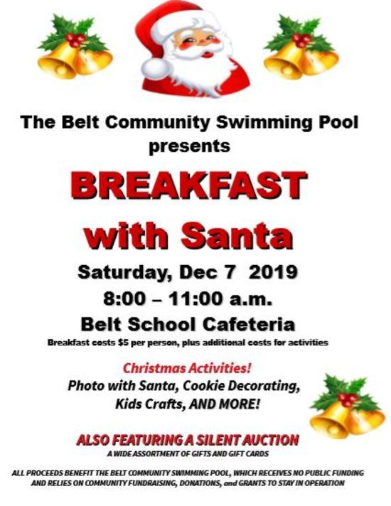 Belts Breakfast with Santa