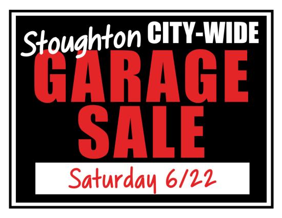 Stoughton City-Wide Garage Sale
