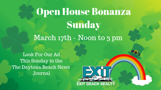 Open House Bonanza – This Sunday – Noon to Three