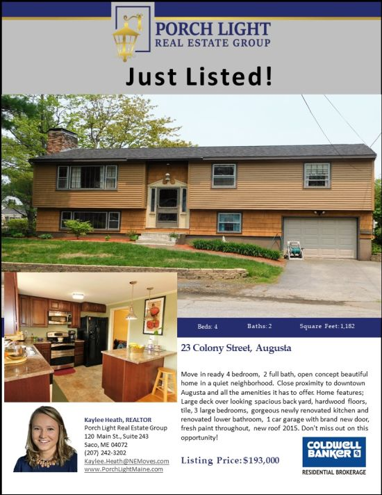 New Listing in Augusta