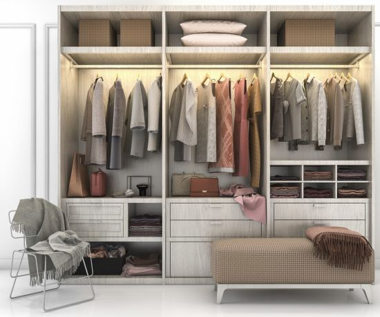 5 Reasons to Choose a Modular Wall Closet Over a Walk-in Closet