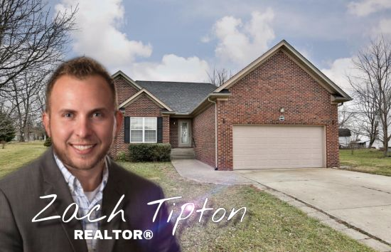Zach Tipton celebrates his 240th home sale