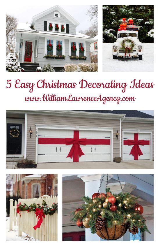 5 Easy Christmas Decorating Ideas
