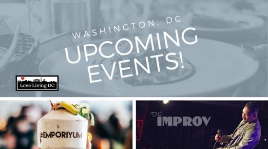 Washington, DC Weekend Event Guide: November 8 – 10