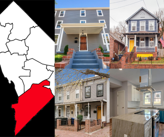 This Week in Ward 8 Real Estate – November 3 – 9