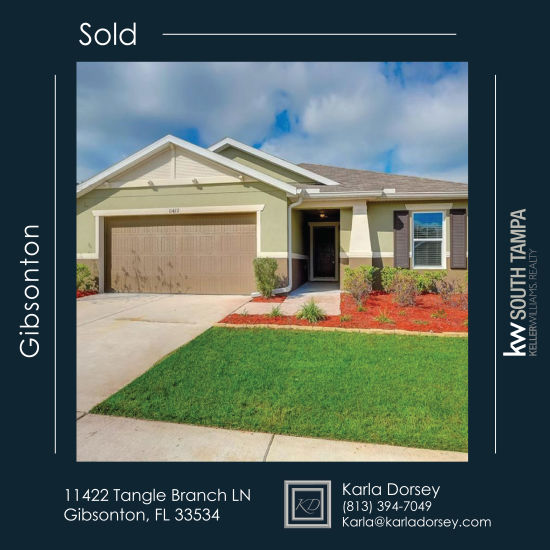 SOLD- 11422 Tangle Branch Ln