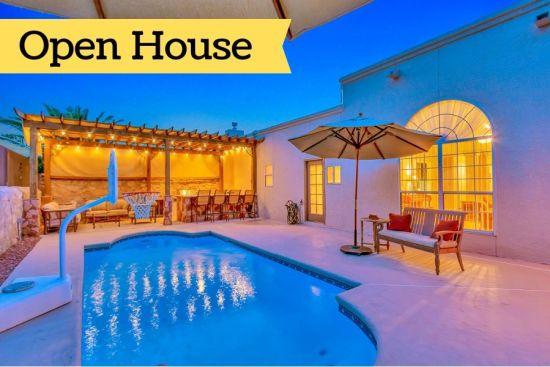 El Paso, TX Open Houses:  August 10 & August 11