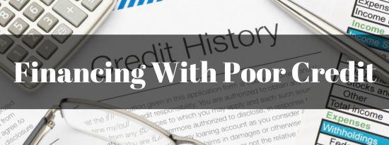 Financing a El Paso, TX Home with Poor Credit