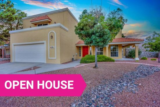 El Paso, TX Open Houses:  September 14 & 15, 2019