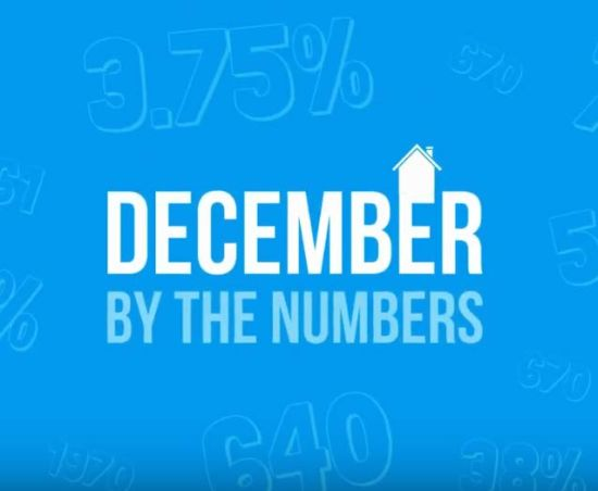 December Real Estate By The Numbers!