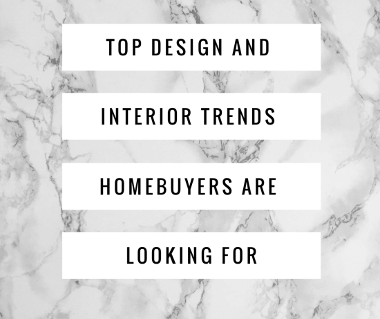 Top Design & Interior Trends
