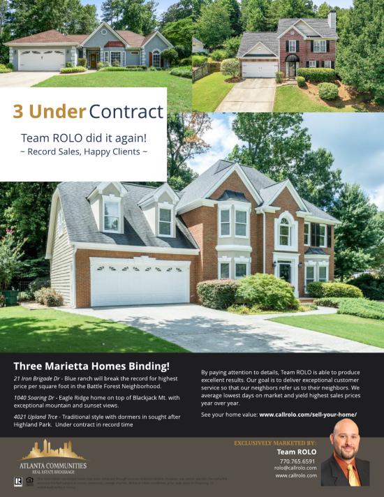 Three Under Contract