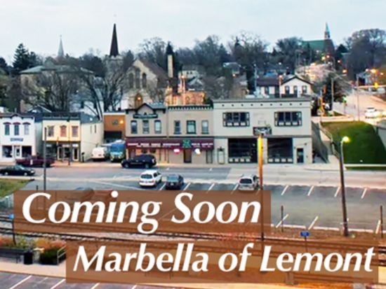 Marbella of Lemont Coming in 2021