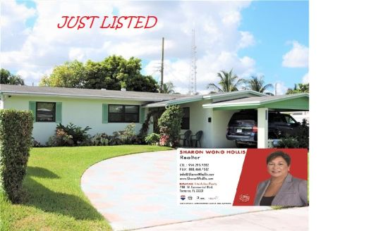HOUSE FOR SALE IN LAUDERHILL, FLORIDA