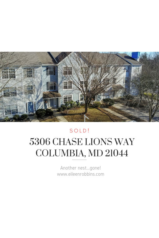 SOLD 5306 Chase Lions Way, Columbia, MD 21044