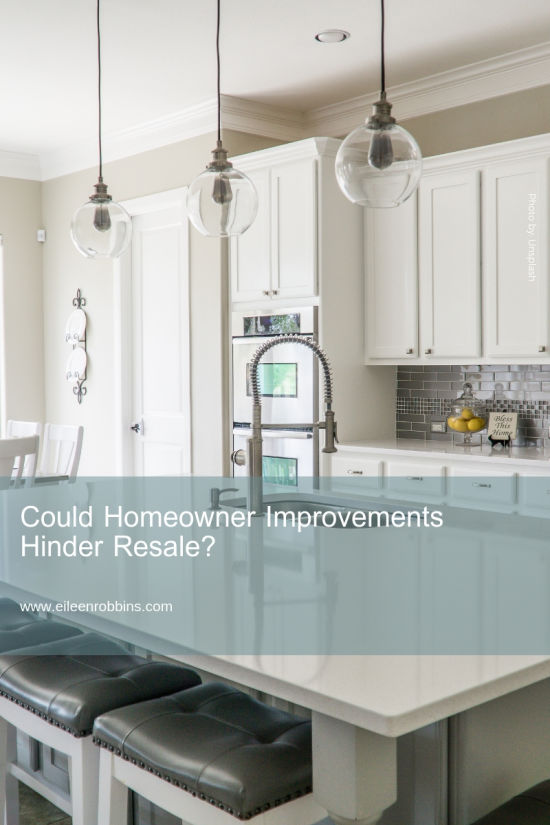 Could Columbia Homeowner Improvements Hinder Resale?