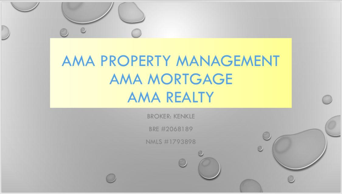 AMA Property Management ~ AMA Realty ~ AMA Mortgage