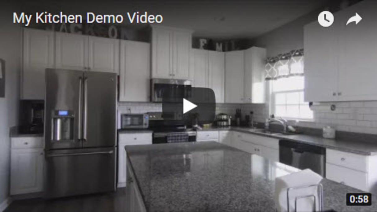My Kitchen Demo - Troy Jackson Homes