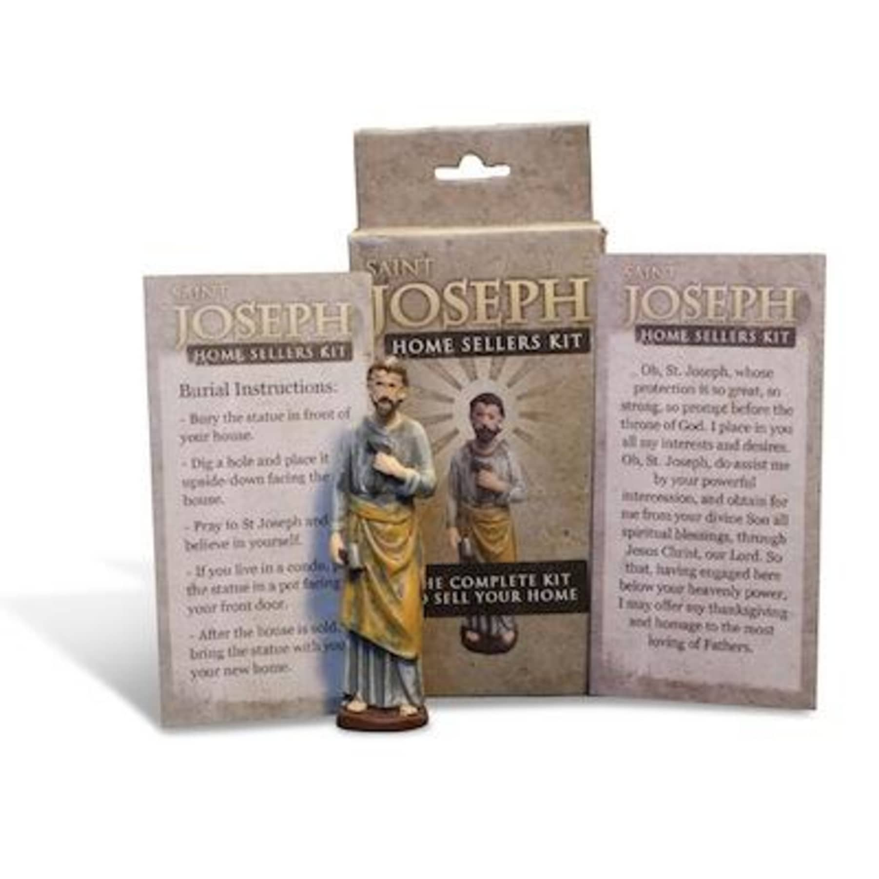 Ing A Home Bury St Joseph Statue The Key To Your Next