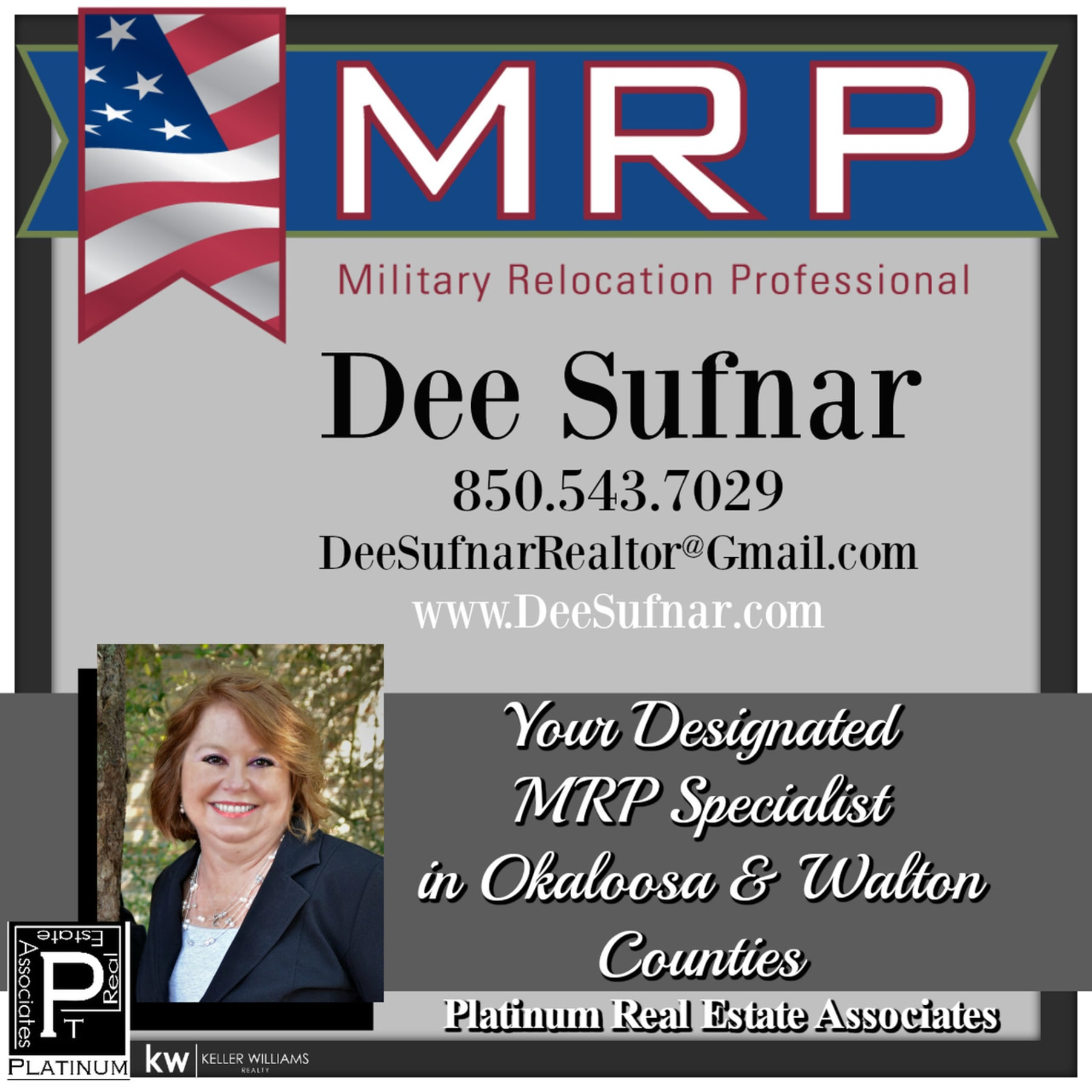 Deneen M Sufnar Earns Nars Military Relocation Professional