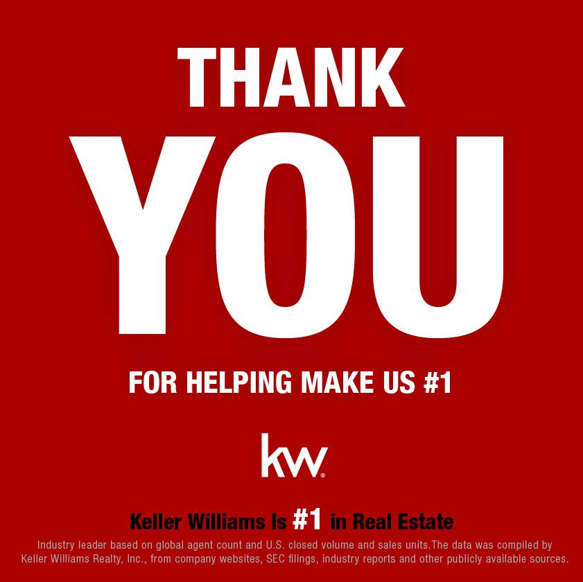 KELLER WILLIAMS REIGNS AS NO  1 REAL ESTATE FRANCHISE IN THE U S