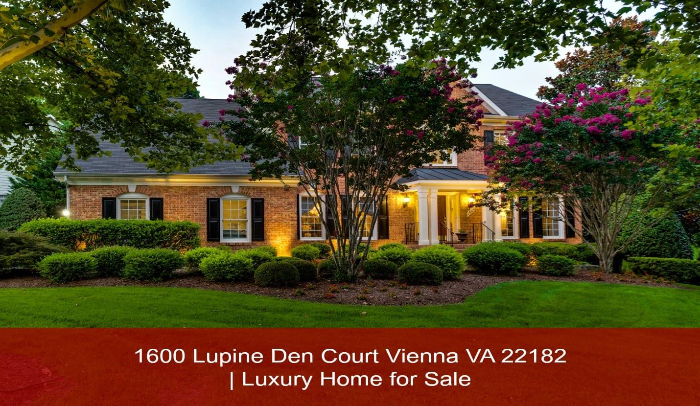 Call 571-643-4902 | 1600 Lupine Den Court Vienna VA