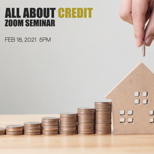 All about credit zoom seminar