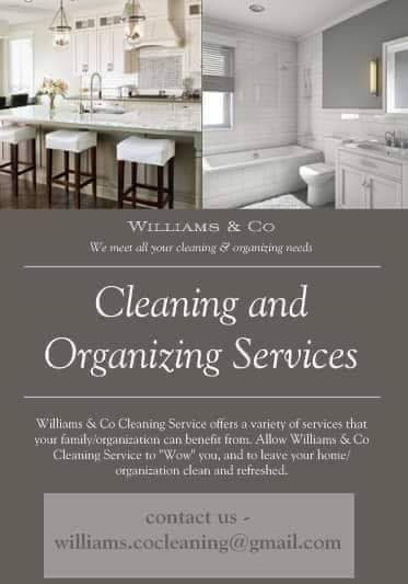 Williams & Co. Cleaning and Organizing Services L.L.C