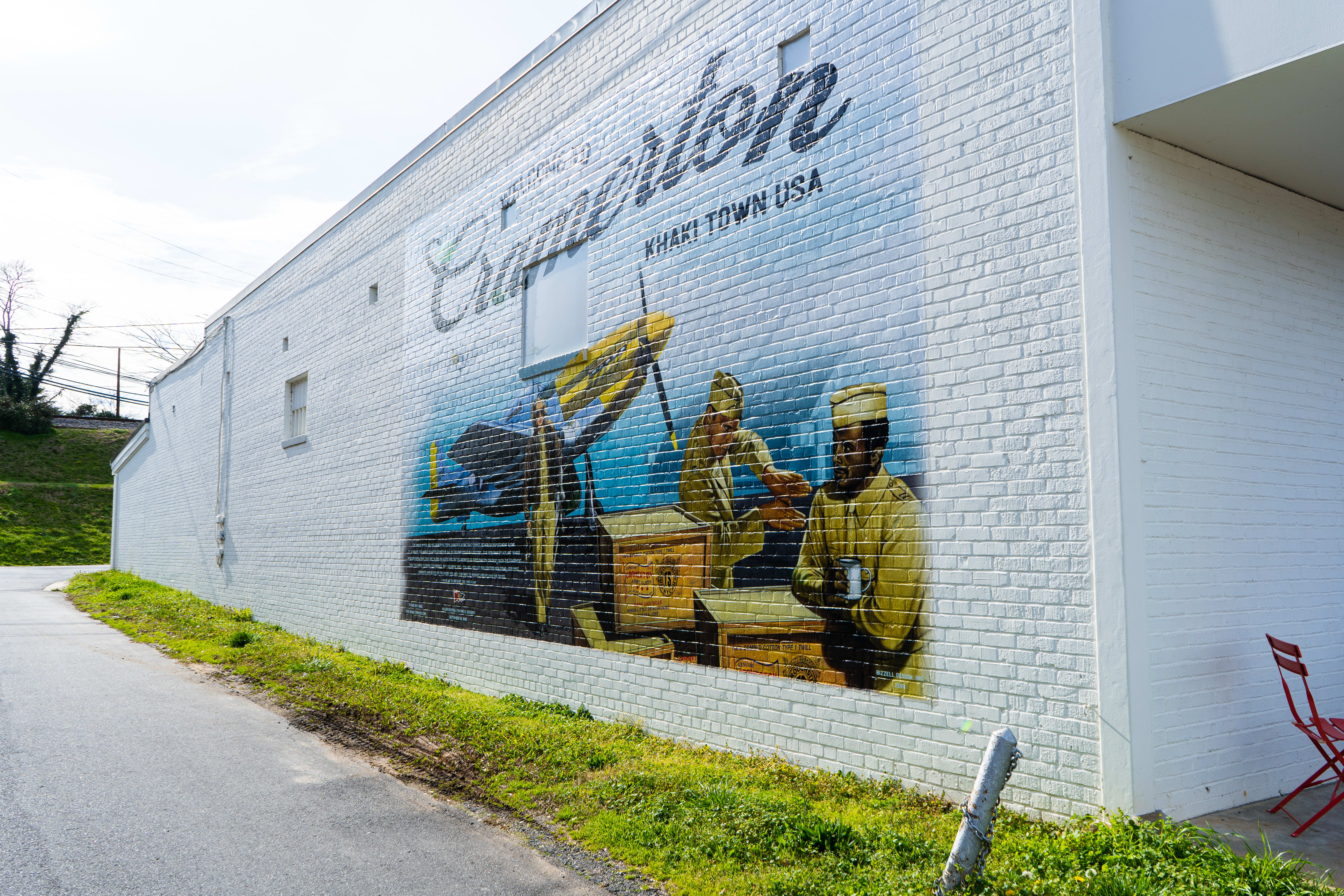 mural on the side of building