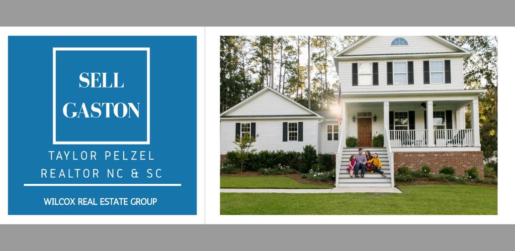 Taylor Pelzel Realtor Sell Gaston Logo